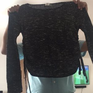 American eagle knitted long sleeve sweater